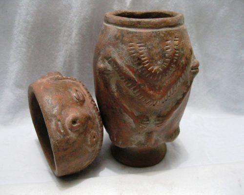 Urna Antropomorfa Cultura Chimila (2)